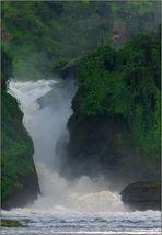 murchison falls - von unten