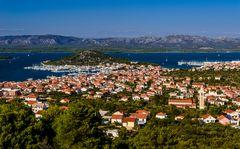 Murter Stadt 2, Insel Murter, Dalmatien, Kroatien