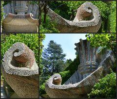 Muschelbrunnen mit Kelch