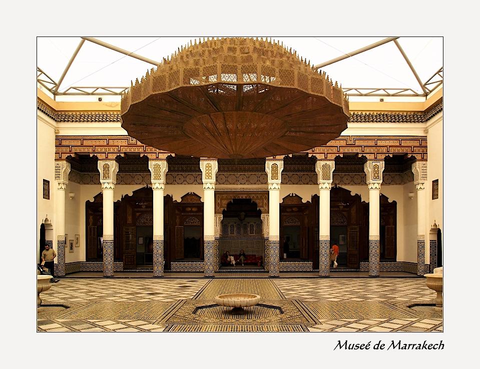 Museé de Marrakech, großer Saal