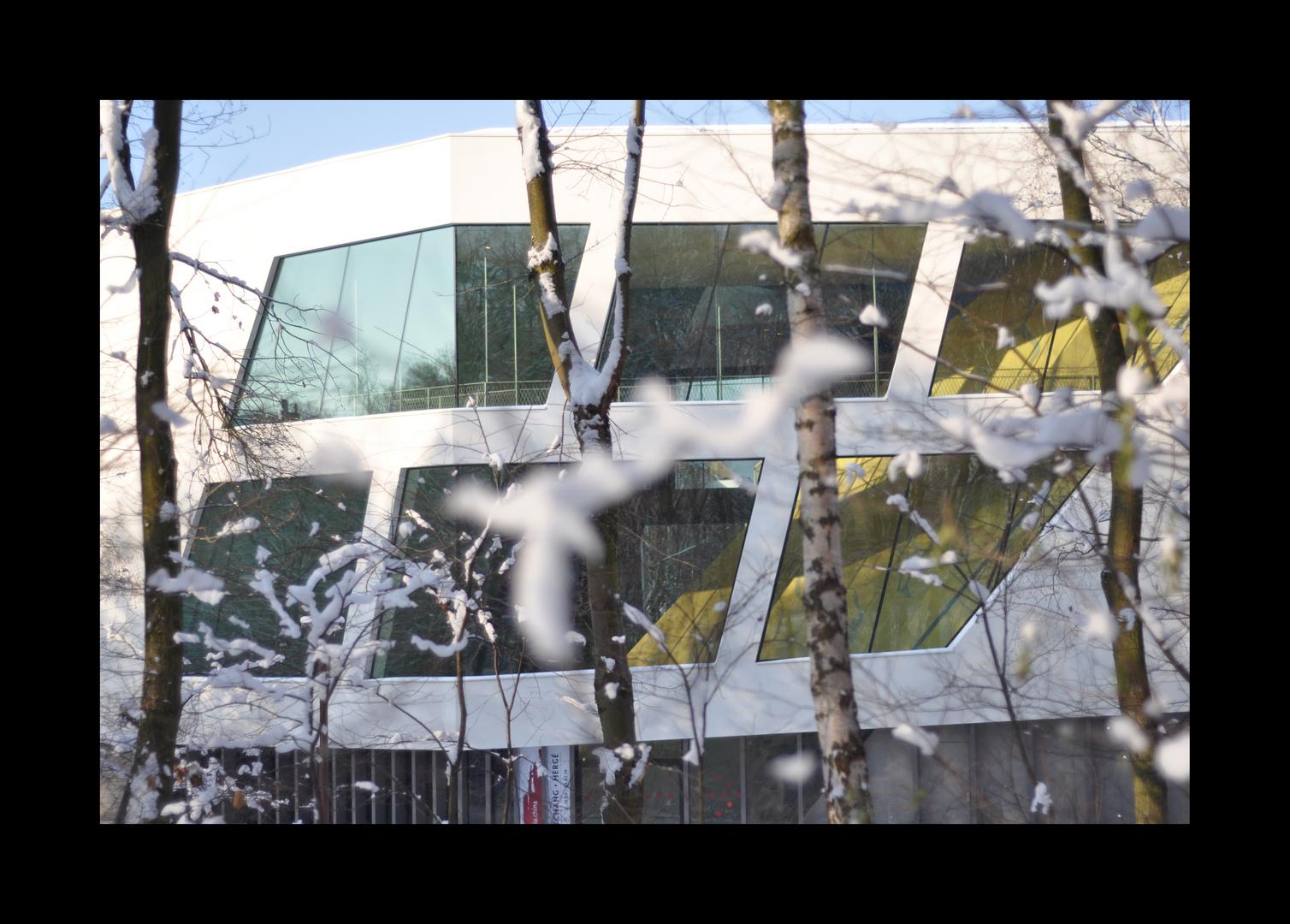 Musée Hergé, à Louvain-la-Neuve (Belgique), par l'architecte français Christian de Portzamparc
