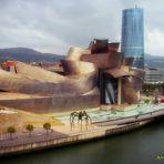 """MUSEO GUGGENHEIM  BILBAO..........""""EL GRAN ARBOL Y EL OJO""""."""