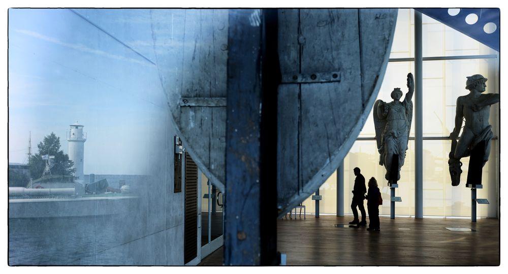 Museum mit Spiegelung