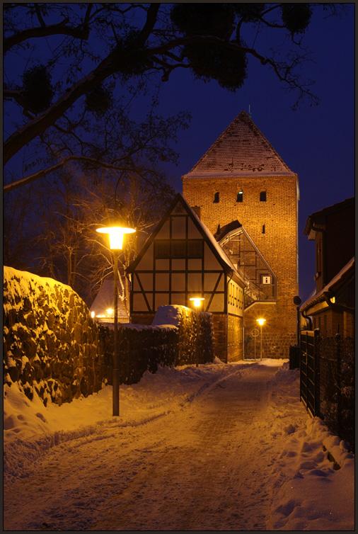Museum und Prenzlauer Tor von Pasewalk (2)