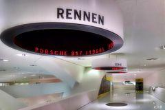 Museumsansichten Porsche Museum