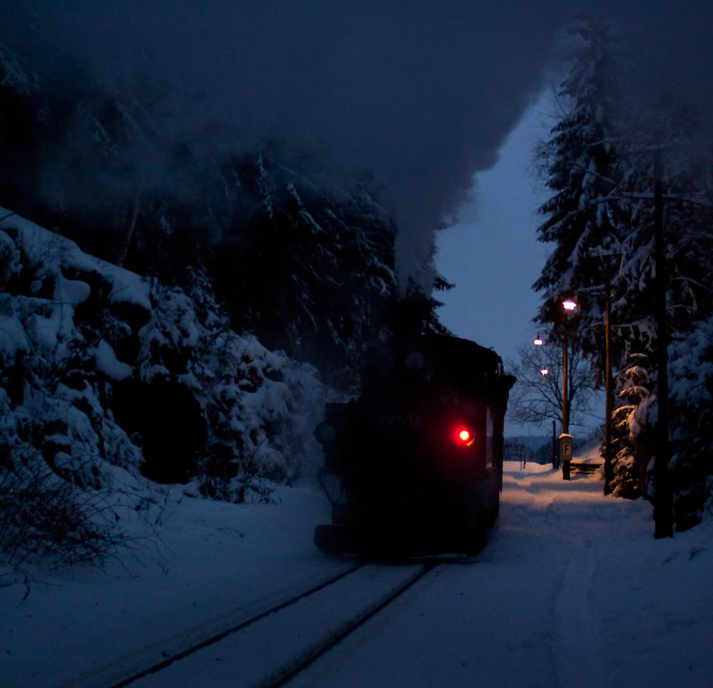 Museumsbahn Schönheide zum 1. Advent......