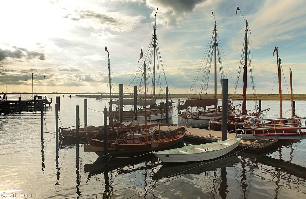 Museumshafen in Marina Wendtorf...
