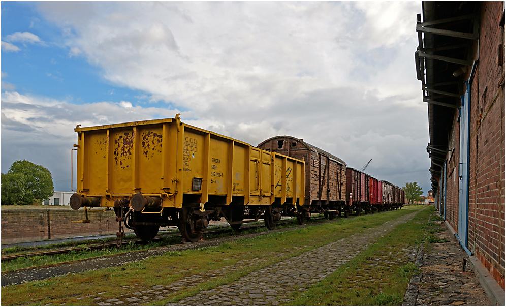 Museumshafen und Eisenbahnmuseum Magdeburg 02