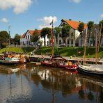 Museumshafen von Carolinensiel (Ostseite) an der Harle