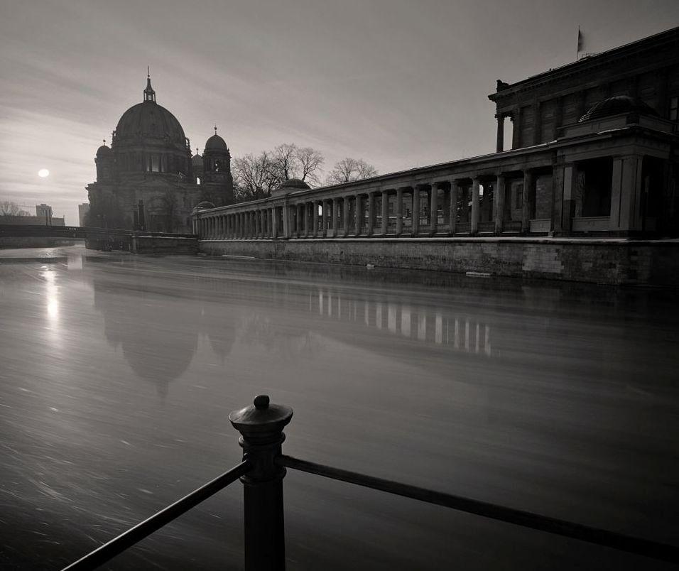 Museumsinsel (Berlin) / The Museum Island with Berliner Dom (Berlin)