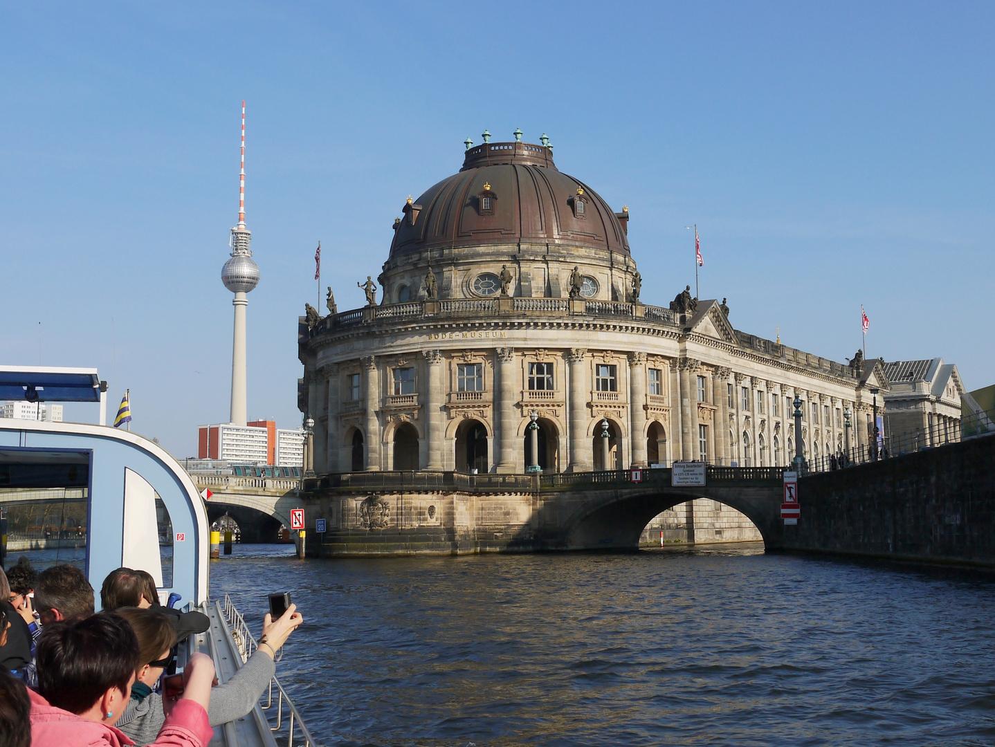 Museumsinsel und Fernsehturm Berlin