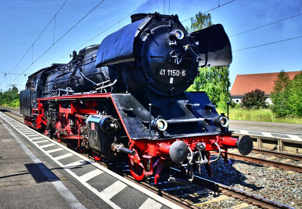 Museumslokomotive 41 1150-6