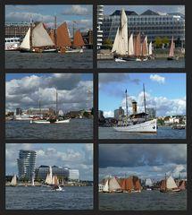 Museumsschiffe im Hamburger Hafen