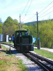 Museumzug der Höllental-Schmalspurbahn