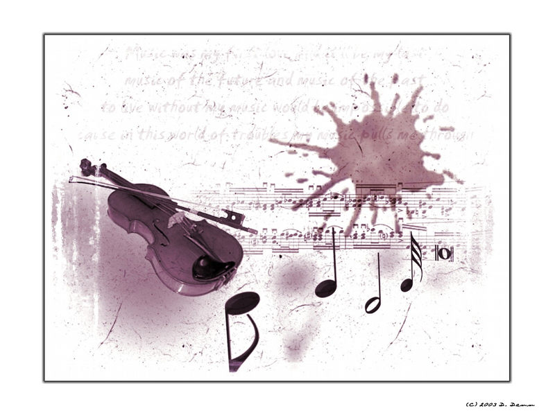 music was my first love....