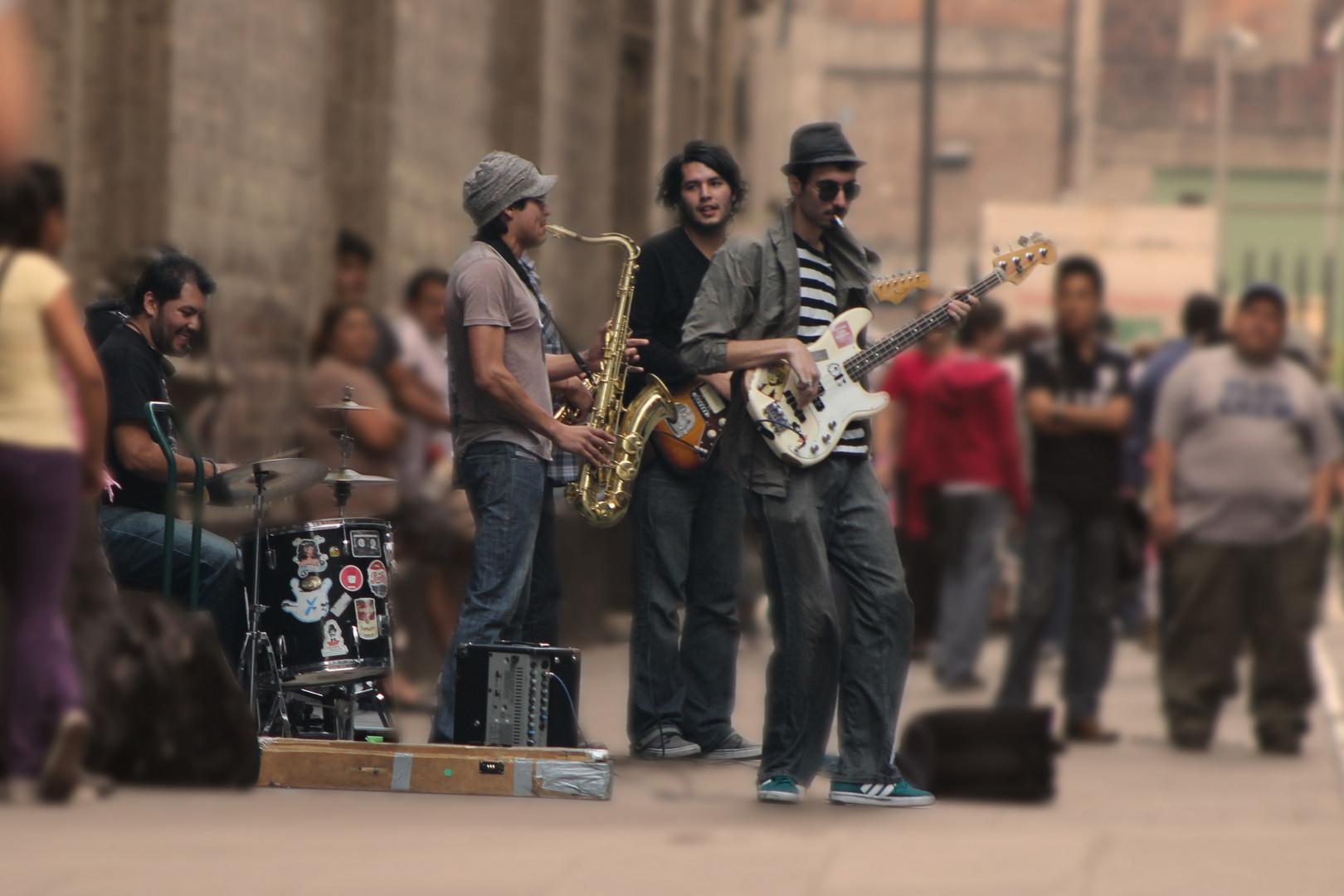Musica urbana.