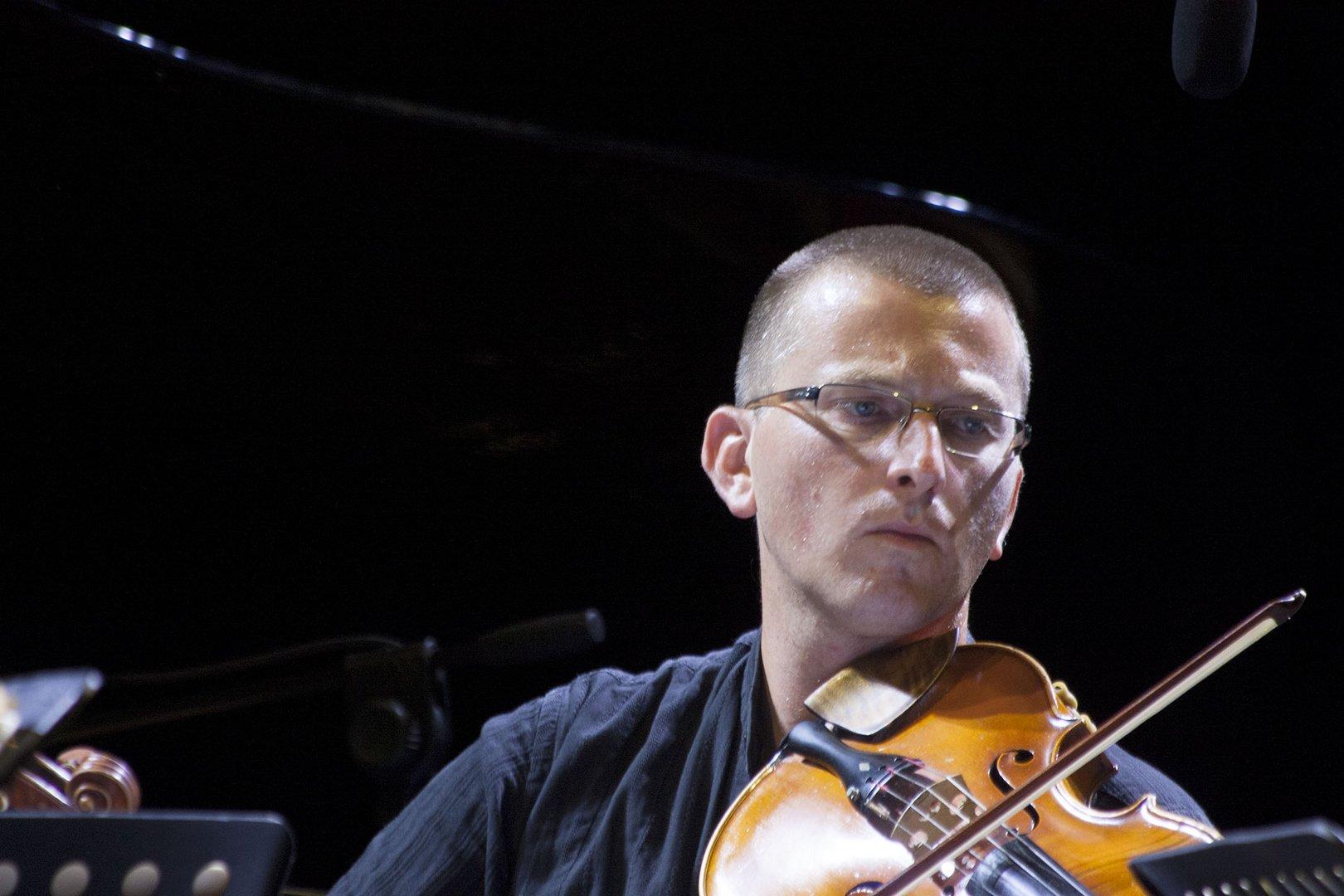Musicista di S. Cecilia alla Notte dei fori