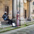 Musico en Santiago