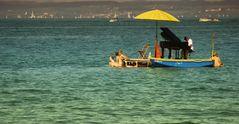 Musik auf dem See