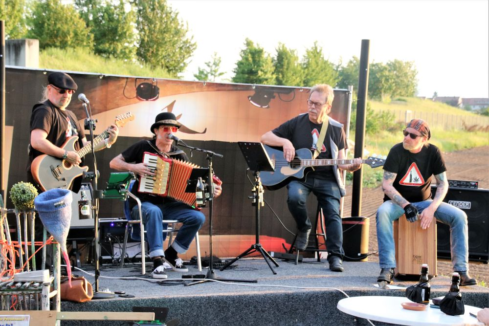 Musik Band Dr.D+St ca-21-54-col +TIPP HEUTE +9Fotos