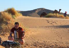 Musik in der Wüste