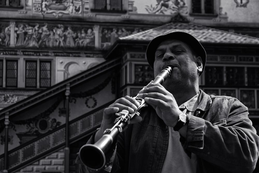 Musikanten sind in der Stadt...