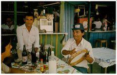 Musiker auf dem Markt von Caruaru / Pernambuco