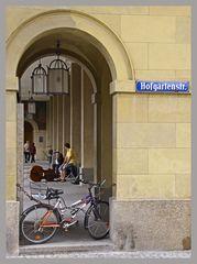 Musiker im Hofgarten München
