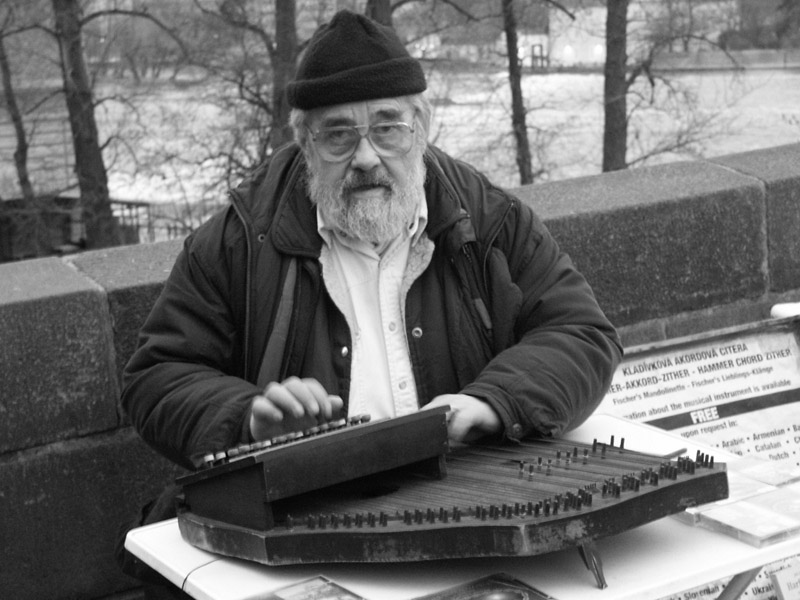 Musiker - Karlsbrücke in Prag