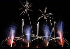 Musikfeuerwerk im 'Blühenden Barock Ludwigsburg' 2014 - II