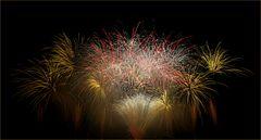 Musikfeuerwerk im 'Blühenden Barock Ludwigsburg' 2014 - IX
