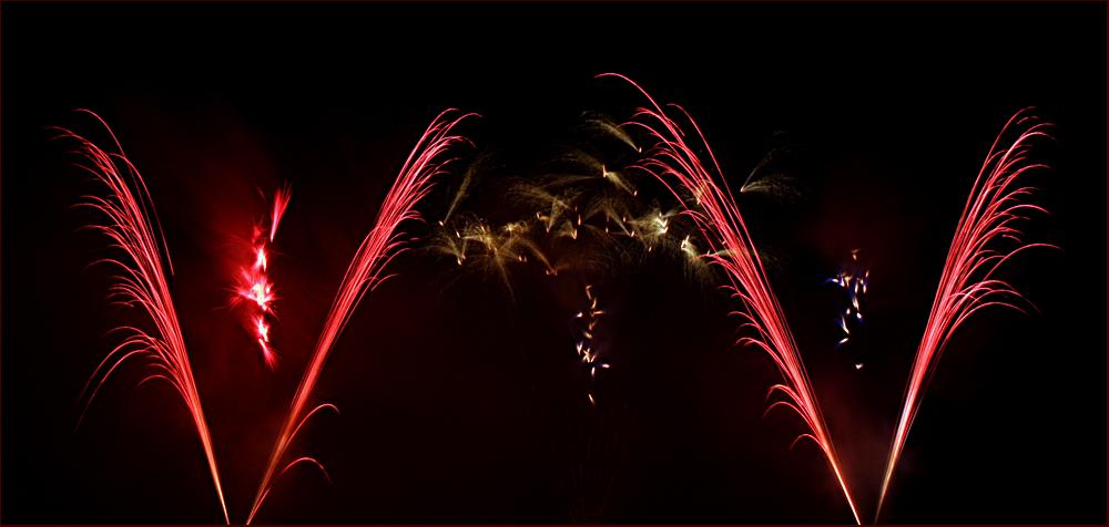 Musikfeuerwerk im 'Blühenden Barock Ludwigsburg' 2014 - X