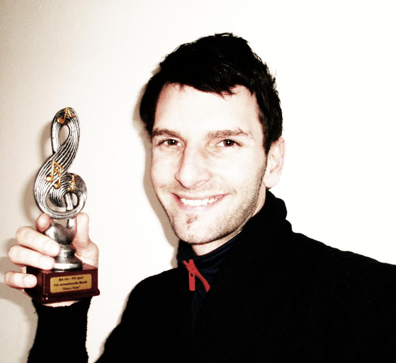 """Musikpreis für Album """"Disco Time"""" 2011"""