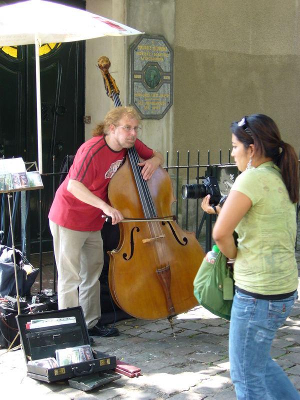 Musique au coin de la rue