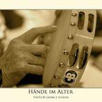 Musizierende Hände