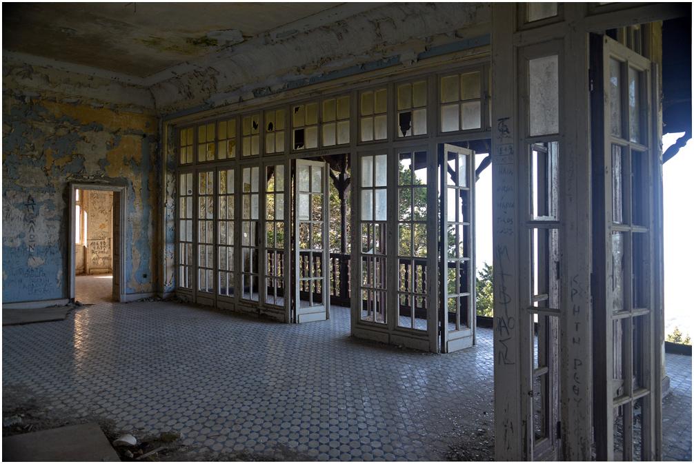 Mussolinis Villa auf Rhodos