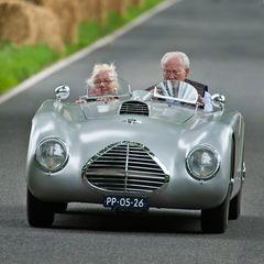 Musst Du immer so schnell fahren, Theo?!?