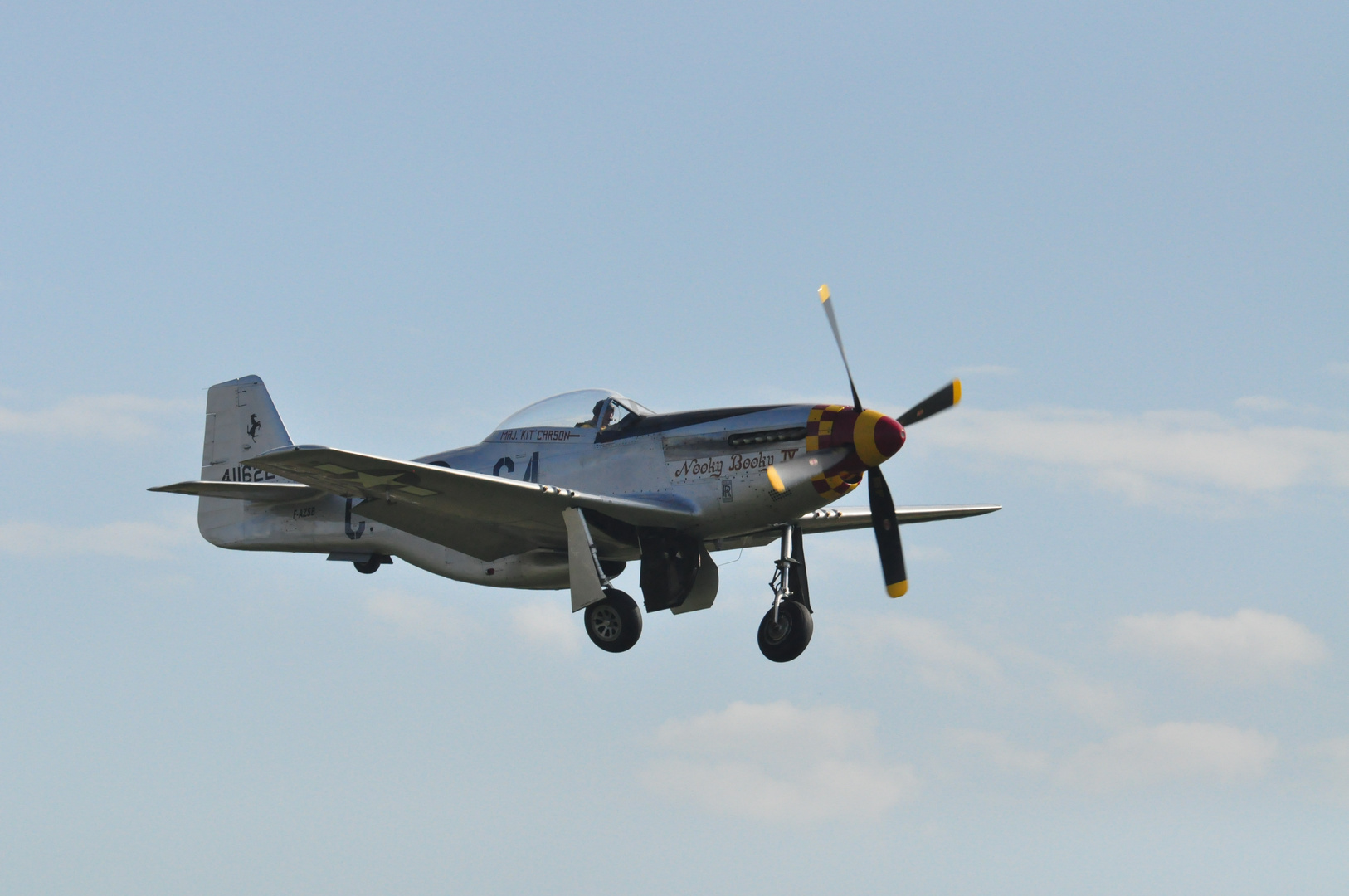 """Mustang P-51 """"Nooky Booky"""""""