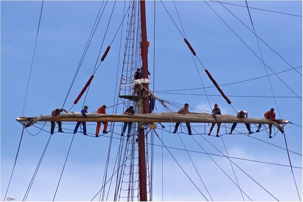 mutige Seeleute
