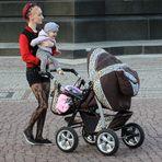 Mutter mit Kind - Colorfassung