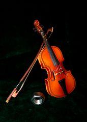 Mutter spielt Geige ...