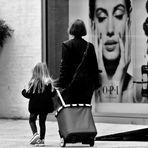 Mutter und Tochter im Einklang