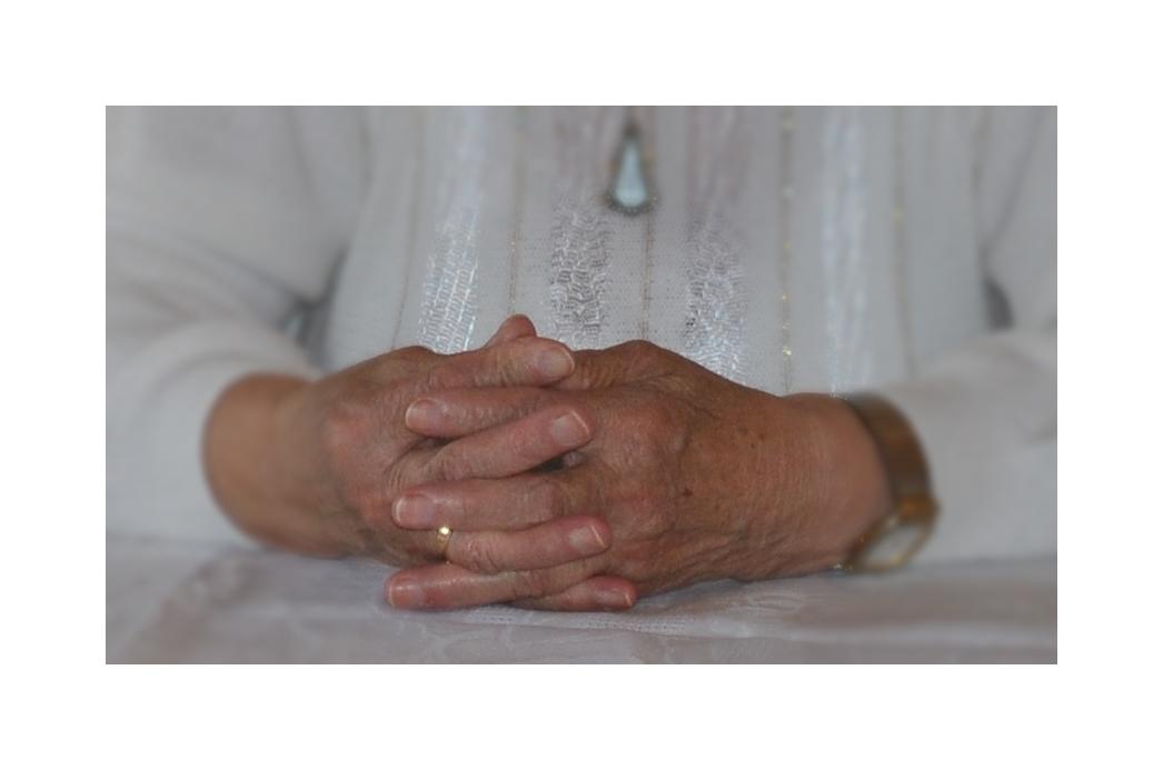 Mutters Hände