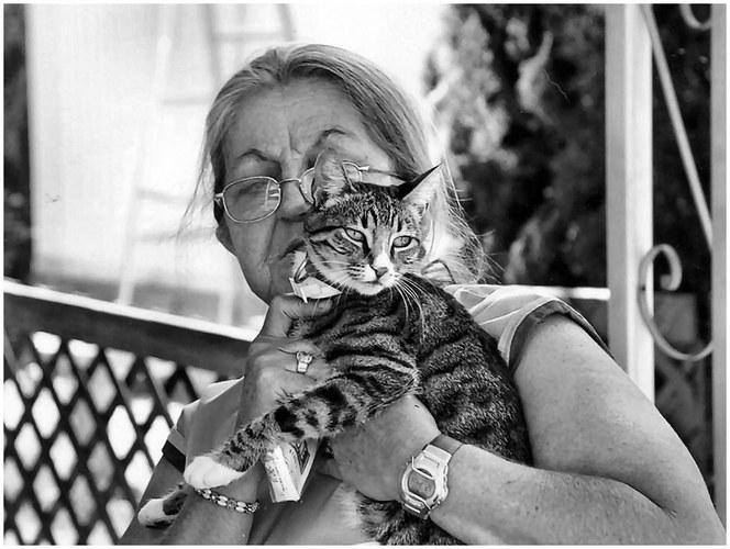 Mutti und Tiger
