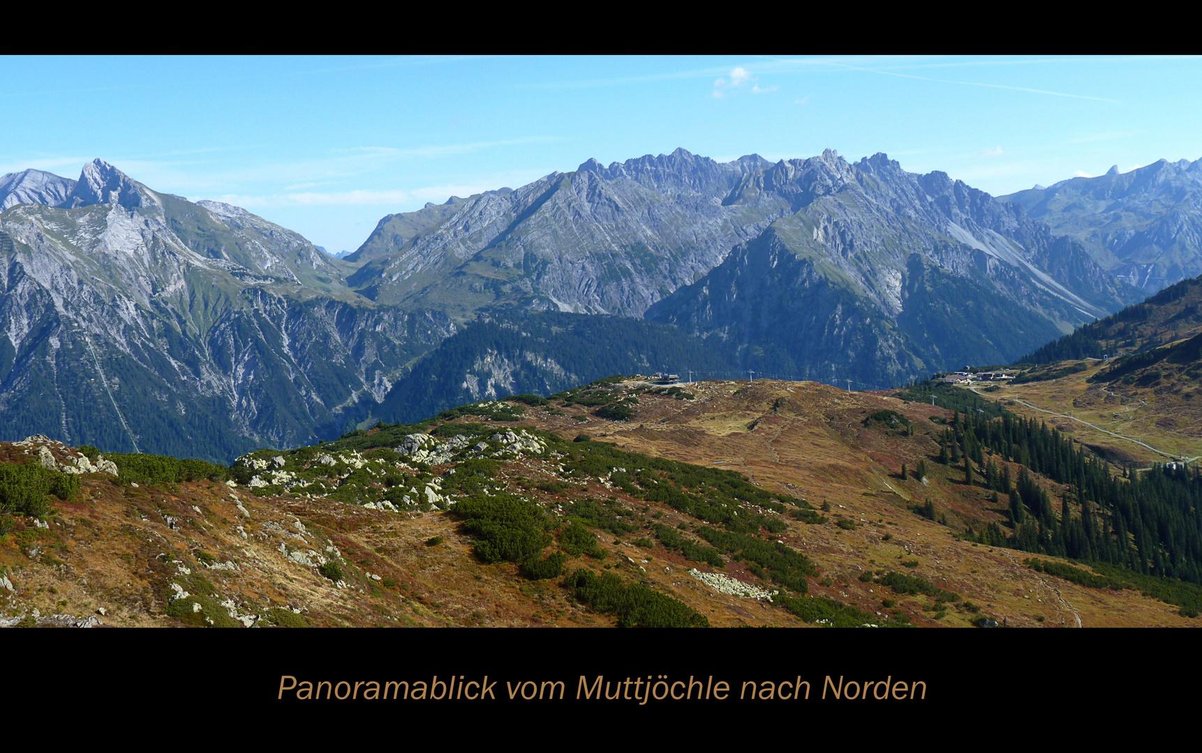 Muttjöchle Panorama