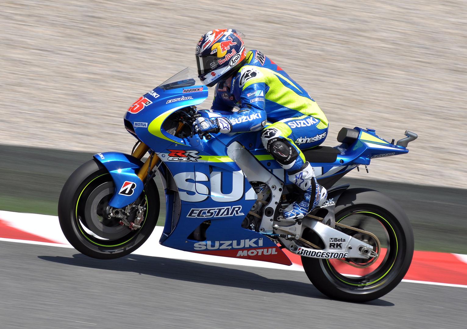M.Vinales GSX-RR MotoGP Barcelona 2015