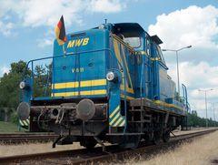 MWB 661 (ex DB 260 749-7, ex V 60 749) im Aschaffenburger Hafen