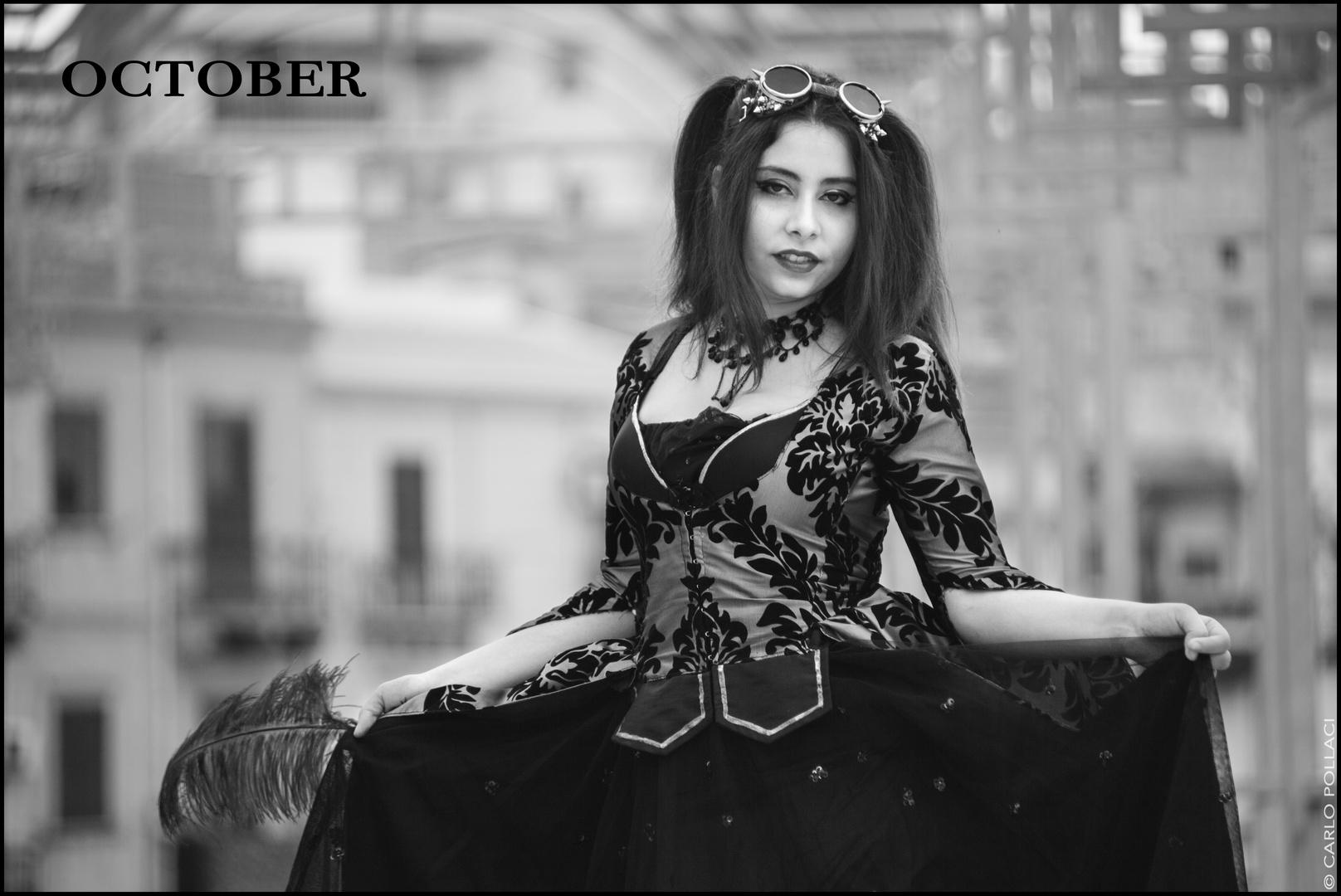 My 2017 calendar - October