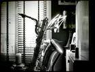 My baritone saxophone