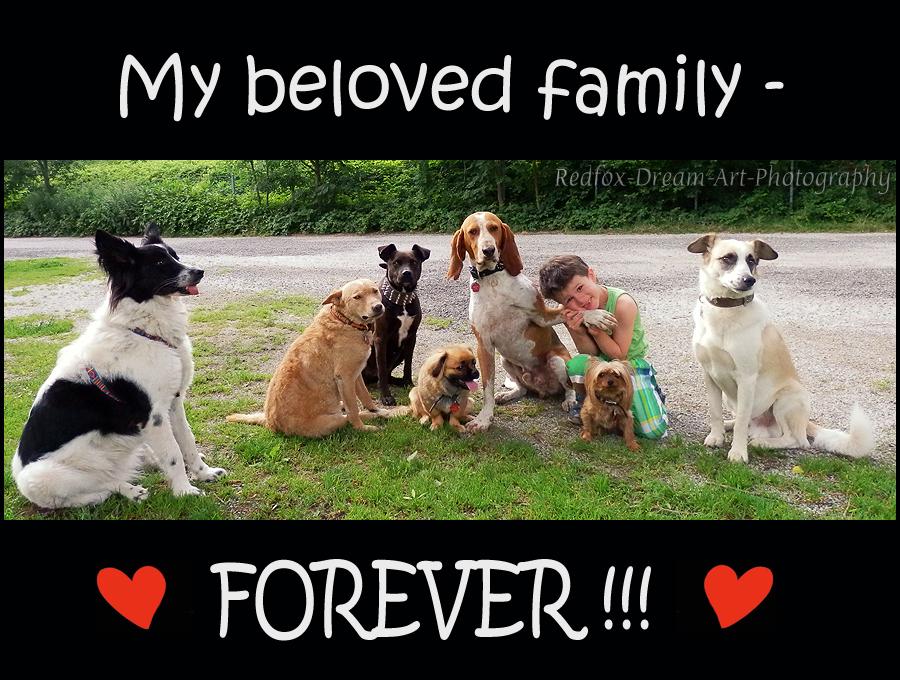 My beloved family!